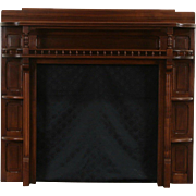 Victorian 1880 Antique Architectural Salvage Fireplace Mantel & Surround