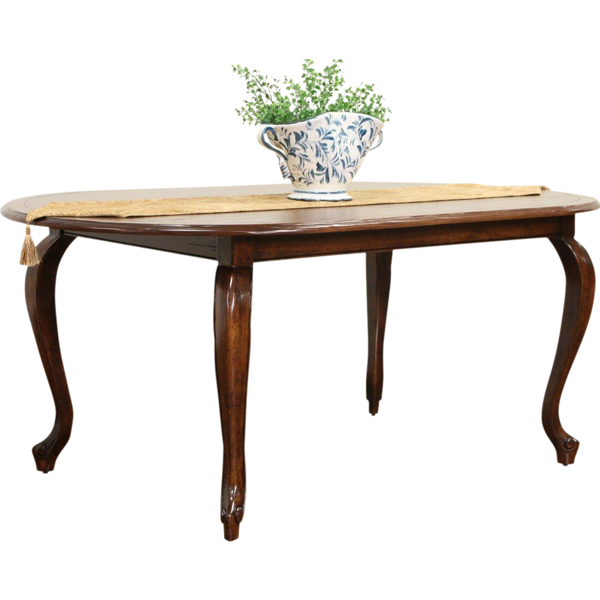 Country French Vintage Oval Dining Table