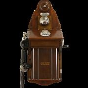 Scandinavian 1915 Antique Wall Phone