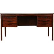 Rosewood Midcentury Danish Modern 1960's Vintage Desk