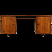 Midcentury Modern 1950's Vintage Walnut Desk or Credenza