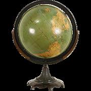 Globe of the World & Stand, 1900 Antique Signed Johnston of Edinburgh, Scotland