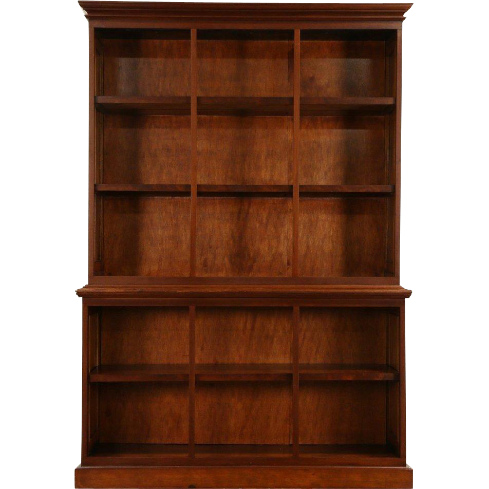 Mahogany 1890 Antique Bookcase or Display Cabinet