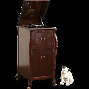 Victor 1920 Mahogany Victrola Wind Up Record Player Phonograph Model VV-XI