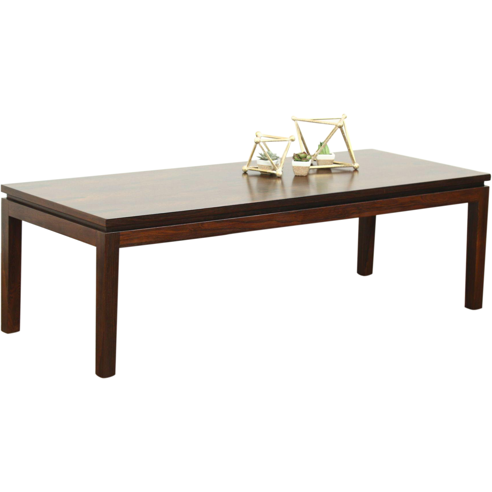 Midcentury Danish Modern 1960 39 S Vintage Rosewood Coffee Table From Harpgallery On Ruby Lane