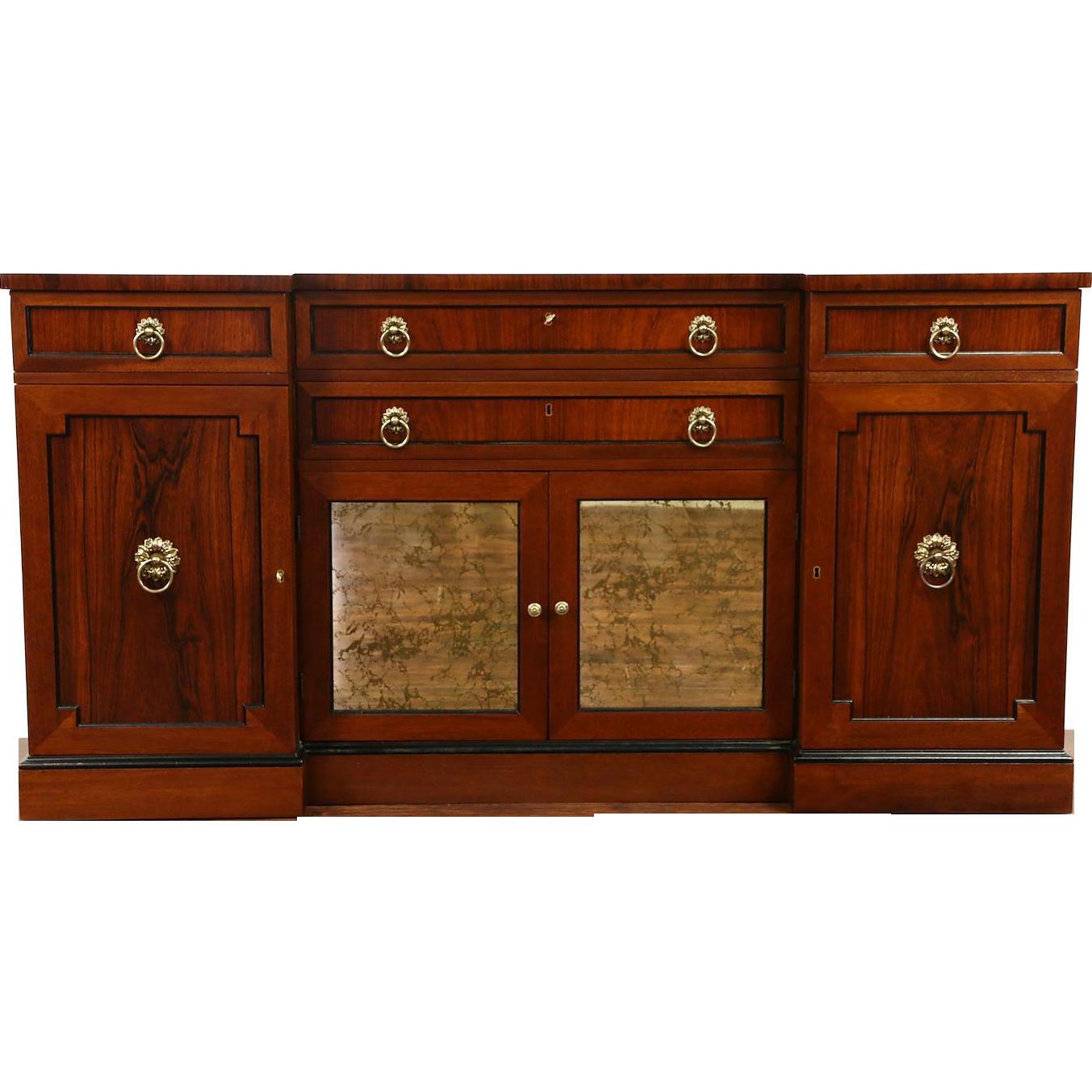 Kittinger NY Signed Rosewood Vintage Sideboard Server or Console