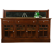 Arts & Crafts Mission Oak Antique 1910 Craftsman Sideboard or Server