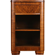 Midcentury Modern 1950 Vintage Walnut Nightstand
