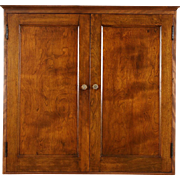 Hotel Countertop or Hanging Key Cabinet, 98 Cubby Holes, 1910 Antique