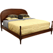 Hickory Chair Atelier Coll. Alessandra Carved Mahogany Traditional King Size Bed