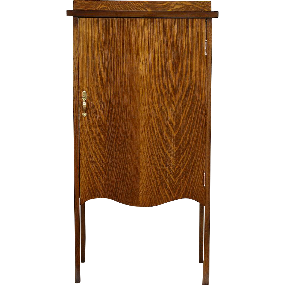 Oak 1900 Antique Sheet Music or Document File Cabinet