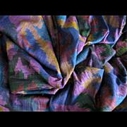 Raw Silk 3 Yards Beautiful Jewel Tones