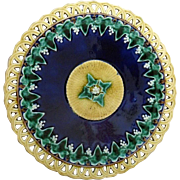 Wedgwood Majolica Plate c. 1870's