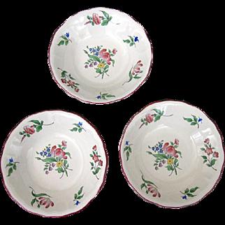 Keller & Guerin Luneville Berry Bowls