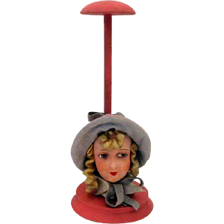 German Lady Hat Stand