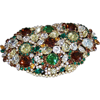"Vintage Hobe ""Jewels of Legendary Splendor""  Accent Piece"