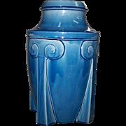 Awaji Pottery Art Deco Style Vase