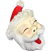 Vintage Christmas Santa Smoker Ashtray
