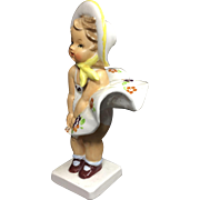 1956 Napco Bloomer Girl Ceramic Figurine