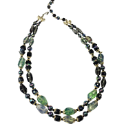 Enchanting Art Glass Bead Necklace
