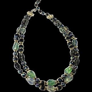 Enchanting Art Glass Bead Necklace