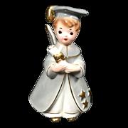 Josef Originals Boy Angel Graduate Figurine