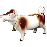 German Ceramic Cow Creamer