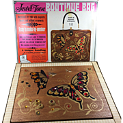 1966 Butterfly Jewel Tone Boutique Bag in Original Box