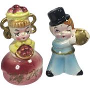 Vintage Japan Sweet Shop Salt & Pepper Shakers