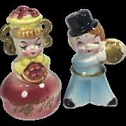 Vintage Japan Sweet Shop Salt & Pepper Shakers