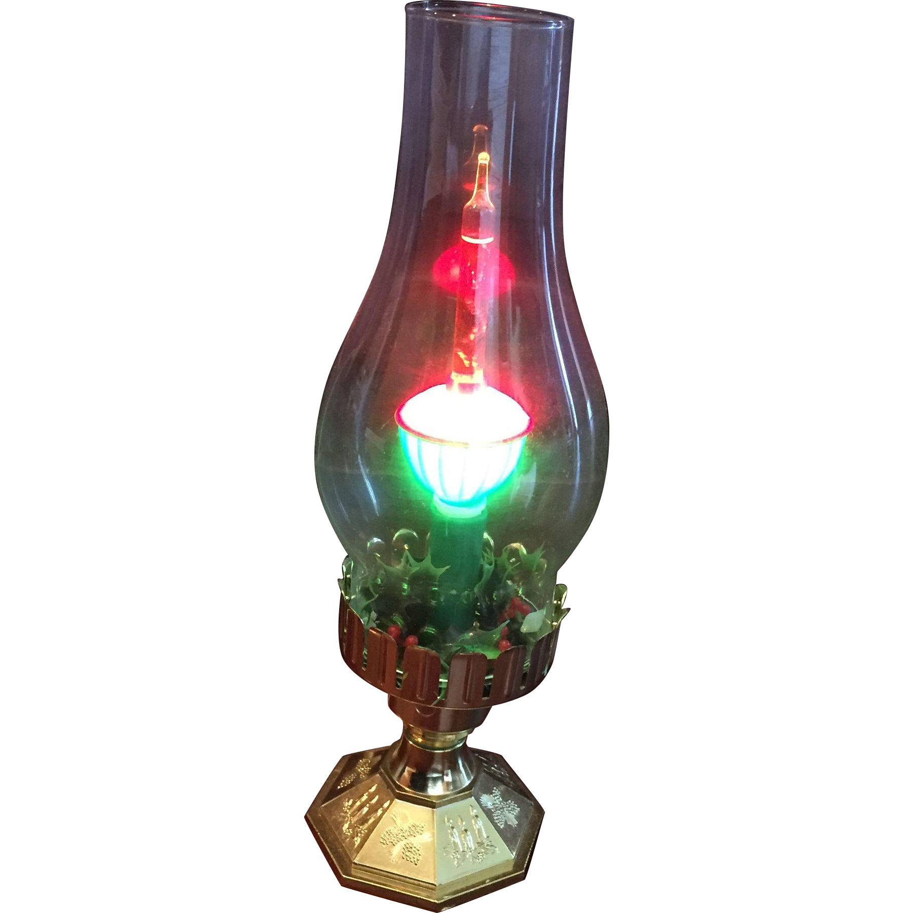 Retro Bubbling Electric Christmas Lamp