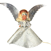 NOMA Illuminated Tree Top Halo Angel Compositon Doll in Original Box