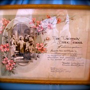Beautiful Bible School Certificate