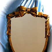 Wonderful Gold Leaf Metal Mirror Frame