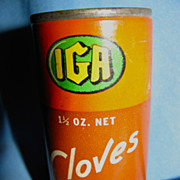 Wonderful IGA Cloves Tin