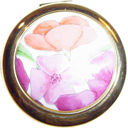 Estee Lauder Blooming Flowers Powder Compact ~ One Rarely Seen ~