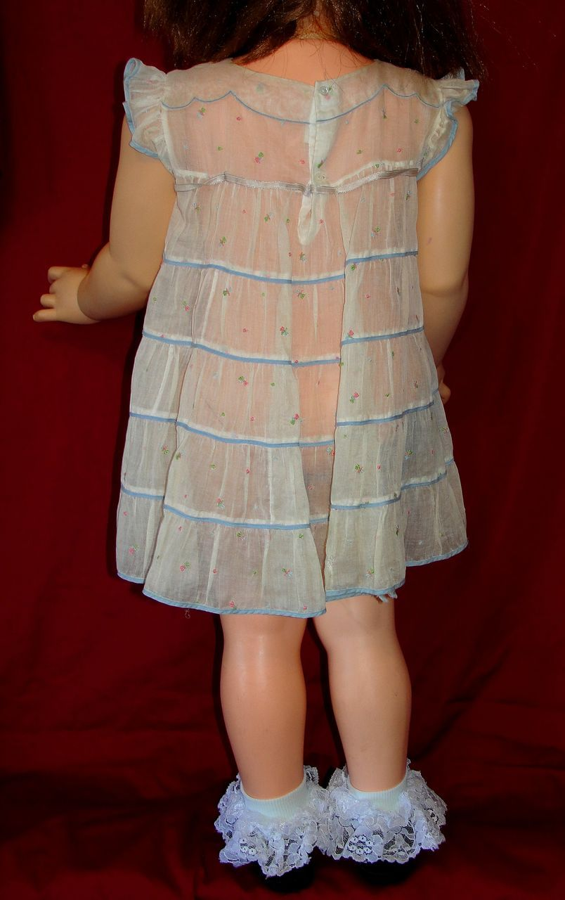 Vintage Nannette Shirley Temple brand toddler dress - sz 3 ...