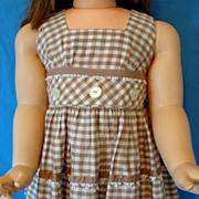 Nannette Shirley Temple toddler's sundress