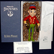 "R. John Wright STRIKE UP THE BAND! ""Brownie w/ cymbals"" HTF Mint in Box"