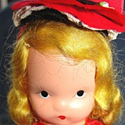 "All bisque Nancy Ann Story Book doll ""Alice sweet Alice"""