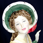 "Royal Doulton bone china (porcelain) figurine ""Christmas Day 2002"" HN 4422"