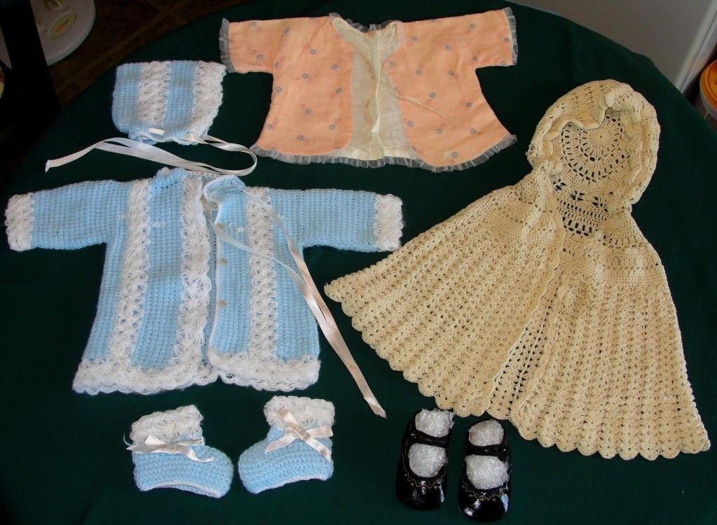1960 S Baby Doll Or Infant Clothing Lot From Heirloomdolls
