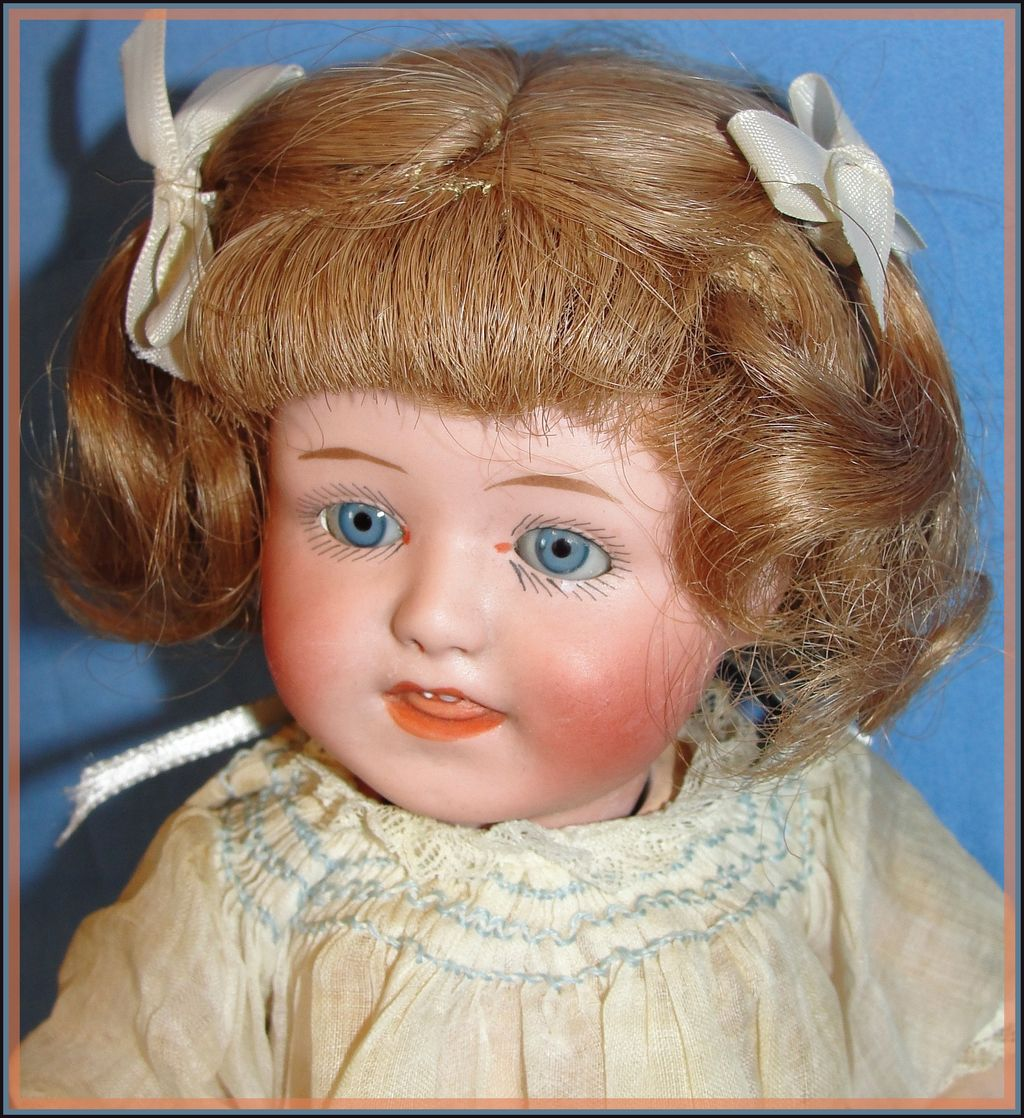 Antique Gebruder Heubach Character Baby Doll Rare Early