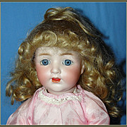 Adorable Antique German Kestner Character Baby