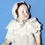 "7"" Antique German Bisque Doll"