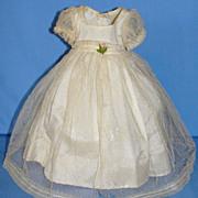 Beautiful Tagged  Madame Alexander's Princess Elizabeth Dress