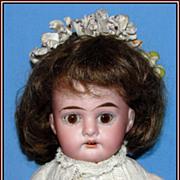 "Pert 11-1/2"" German bisque doll - Armand Marseille"