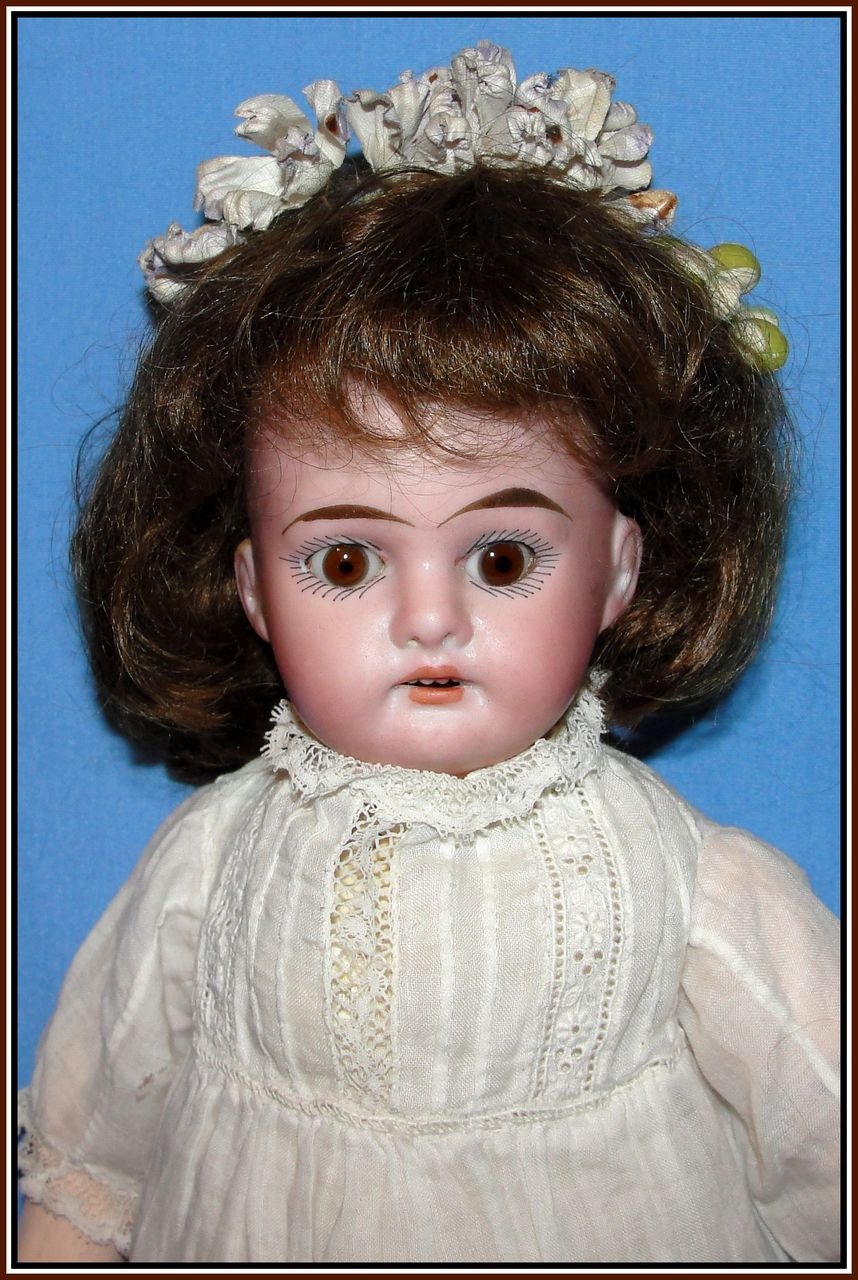 "Pert 11-1/2"" German bisque doll - Armand Marseille"