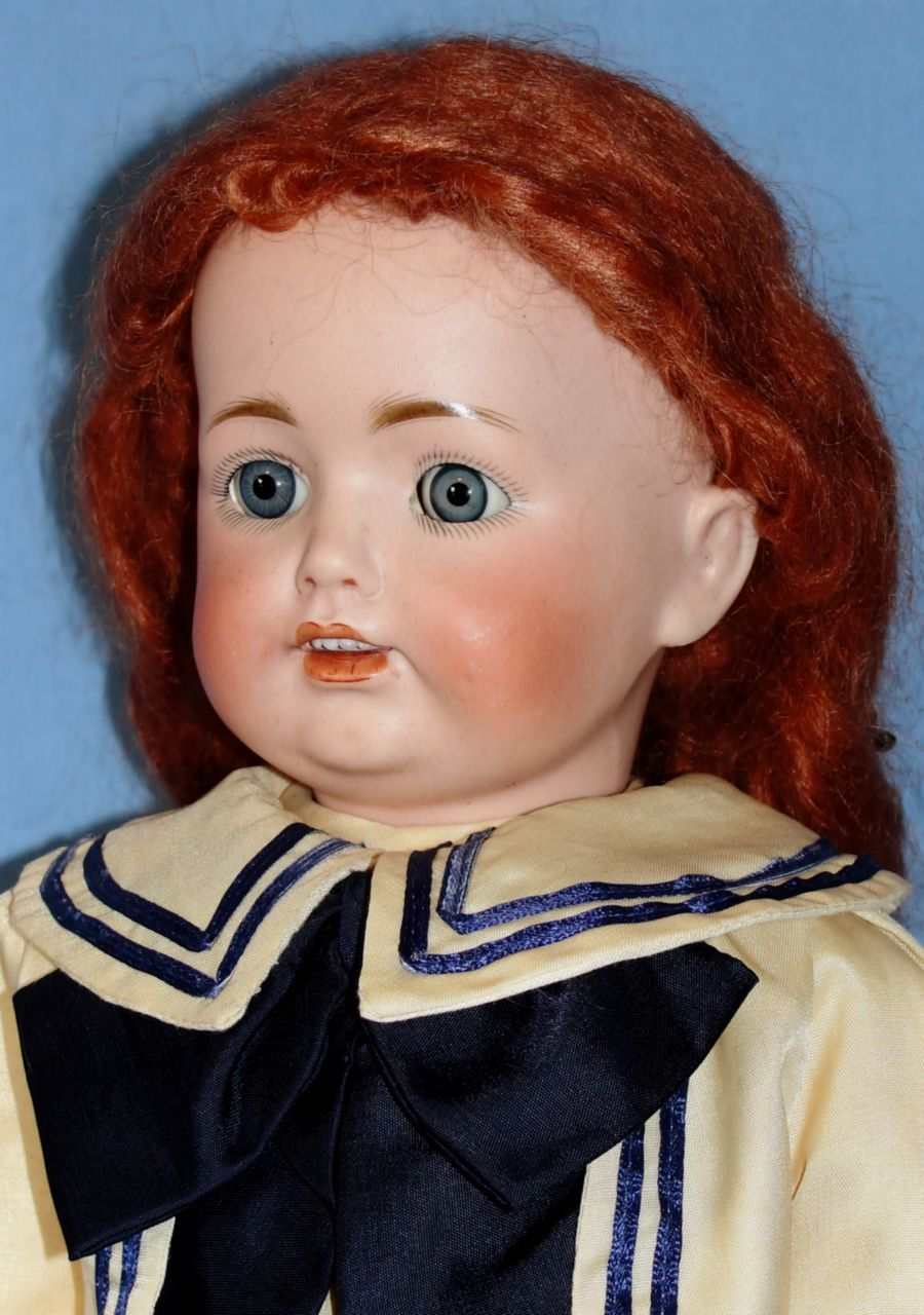 Antique Bisque JDK #260 Character Doll - Sweet!