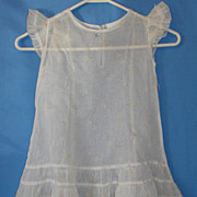 A Tagged Vintage Shirley Temple Organdy Frock